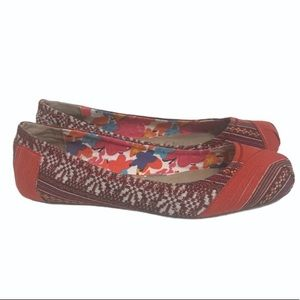 TOMS One for One ballet flats Aztec multicolor
